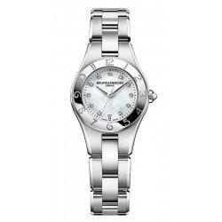 Baume & Mercier 10011 Linea Diamonds Mother of Pearl Quartz Women's Watch