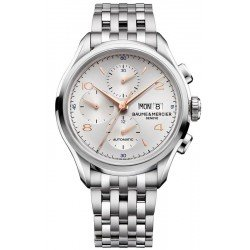 Baume & Mercier Men's Watch Clifton 10130 Automatic Chronograph