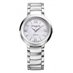 Baume & Mercier 10182 Promesse Mother of Pearl Automatic Women's Watch