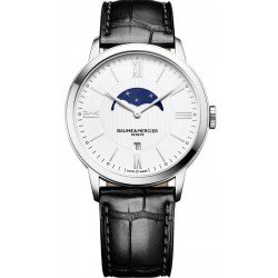 Baume & Mercier Men's Watch 10219 Classima Moonphase Quartz