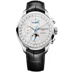 Baume & Mercier 10278 Clifton Chronograph Moonphase Automatic Men's Watch