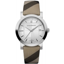 Burberry Unisex Watch The City Nova Check BU1390