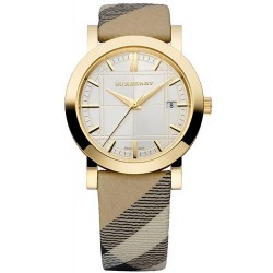 Burberry Women's Watch The City Nova Check BU1398