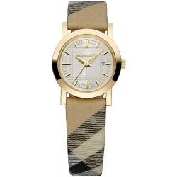 Burberry Women's Watch The City Nova Check BU1399