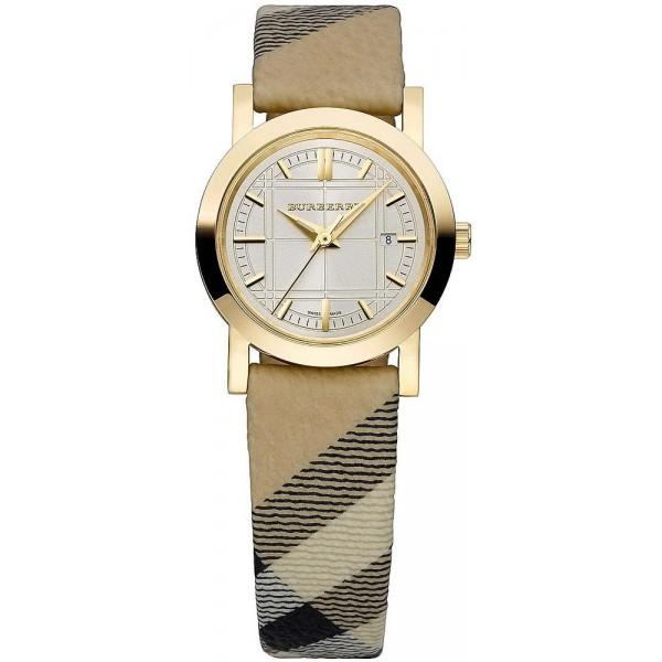 Buy Burberry Women's Watch The City Nova Check BU1399
