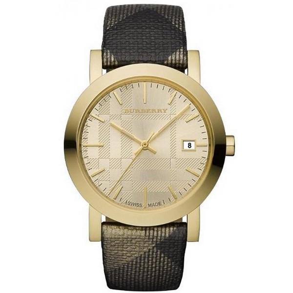 Buy Burberry Unisex Watch The City Nova Check BU1874