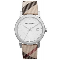 Buy Burberry Unisex Watch The City Nova Check BU9022