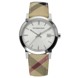 Burberry Unisex Watch The City Nova Check BU9025