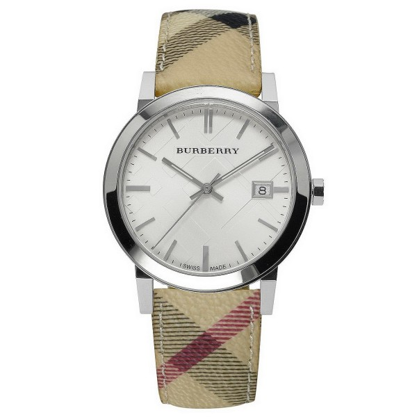 Buy Burberry Unisex Watch The City Nova Check BU9025