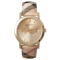 Burberry Unisex Watch The City Nova Check BU9026