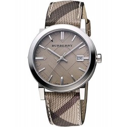 Burberry Women's Watch The City Nova Check BU9118