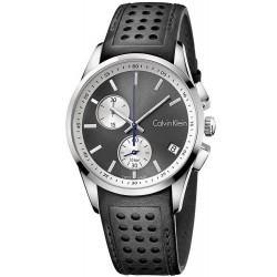 Calvin Klein Men's Watch Bold K5A371C3 Chronograph