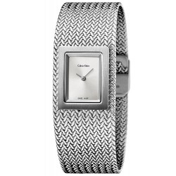 Calvin Klein Women's Watch Mesh K5L13136