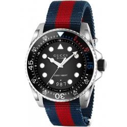 Gucci Men's Watch YA136210 Dive XL Quartz