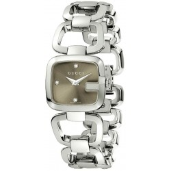 Gucci Women's Watch G-Gucci Small YA125503 Quartz