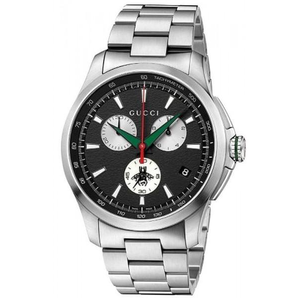 Buy Gucci Men's Watch G-Timeless XL YA126267 Quartz Chronograph