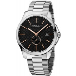 Gucci Men's Watch G-Timeless Large Slim YA126312 Automatic