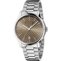 Buy Gucci Men's Watch G-Timeless Large Slim YA126317 Quartz