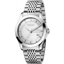 022c50f80e5 Gucci Unisex Watch G-Timeless Medium YA126401 Quartz