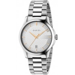Gucci Unisex Watch G-Timeless Medium YA126442 Quartz