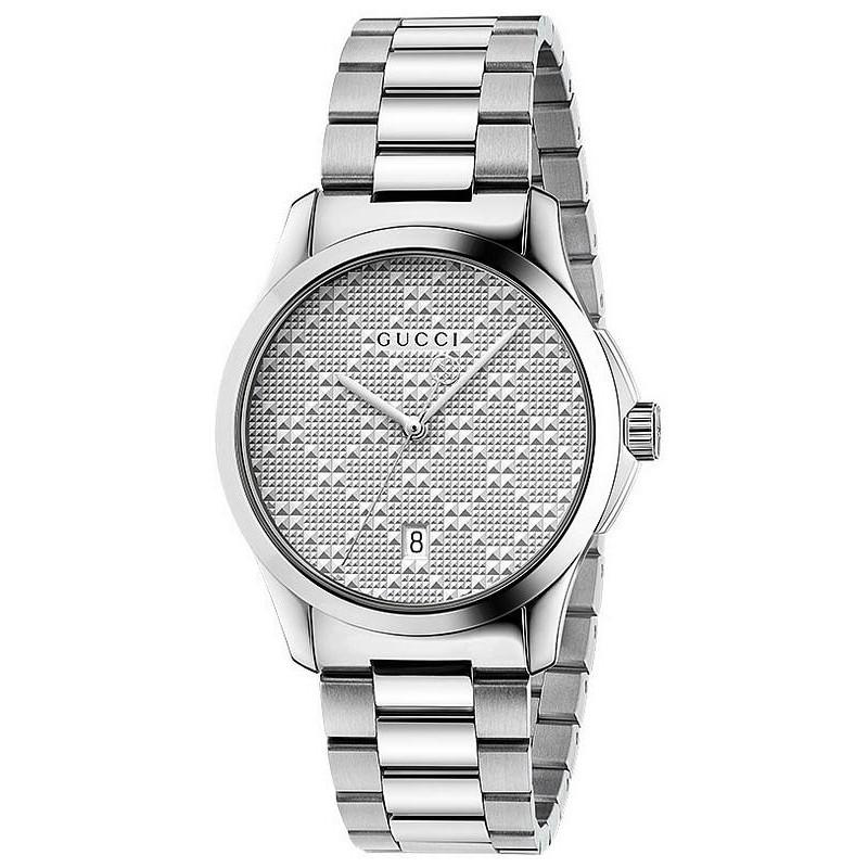 e68c982a5b1 -8% Buy Gucci Unisex Watch G-Timeless Medium YA126459 Quartz