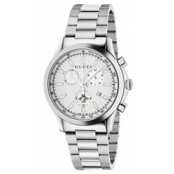 Gucci Unisex Watch G-Timeless Medium YA126472 Chronograph Quartz