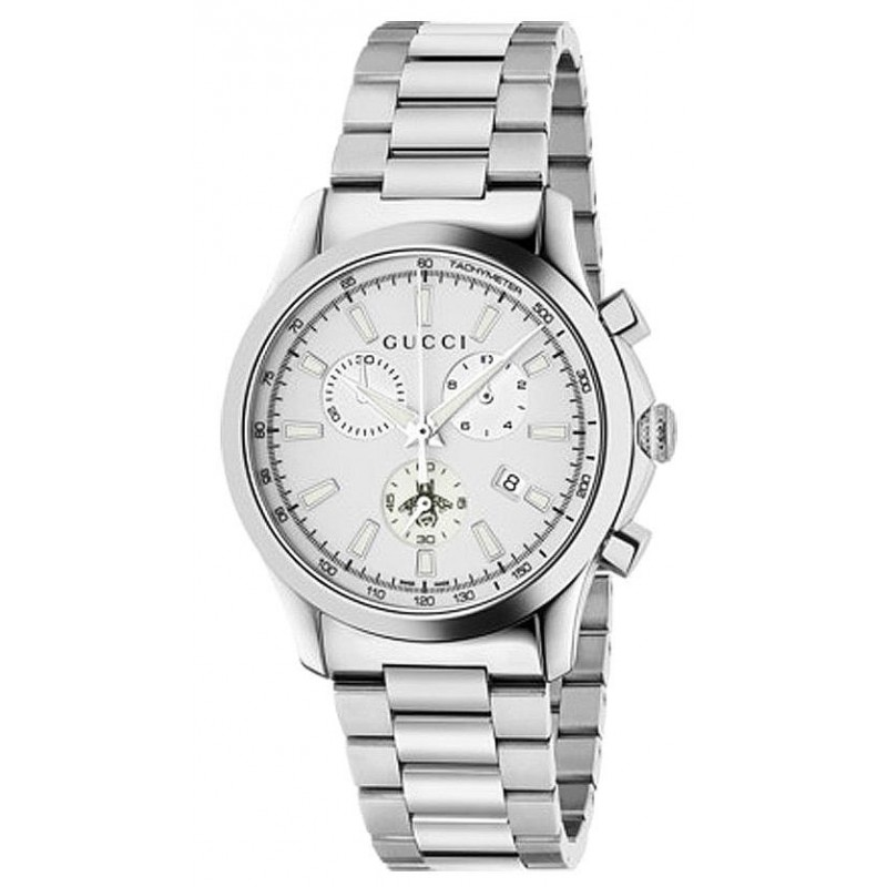 e2aebb45829 -8% Buy Gucci Unisex Watch G-Timeless Medium YA126472 Chronograph Quartz