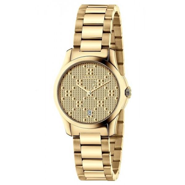 Buy Gucci Women's Watch G-Timeless Small YA126553 Quartz