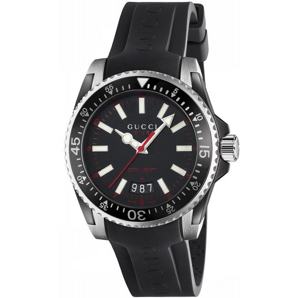 Buy Gucci Men's Watch Dive Large YA136303 Quartz