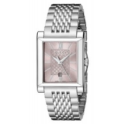 Gucci Women's Watch G-Timeless Rectangular Small YA138502 Quartz