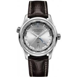 Hamilton Men's Watch Jazzmaster GMT Auto H32605551