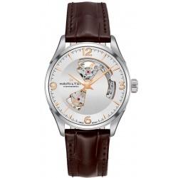 Hamilton Men's Watch H32705551 Jazzmaster Open Heart Viewmatic