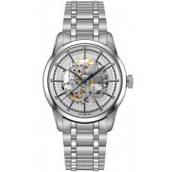 Hamilton Men's Watch Railroad Skeleton Auto H40655151
