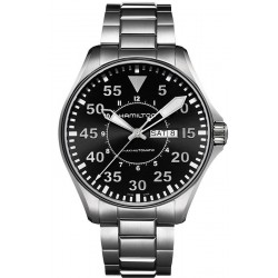 Hamilton Men's Watch Khaki Aviation Pilot Auto H64715135