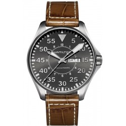 Hamilton Men's Watch Khaki Aviation Pilot Auto H64715885