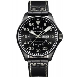Hamilton Men's Watch Khaki Aviation Pilot Auto H64785835