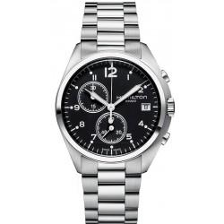Hamilton Men's Watch Khaki Aviation Pilot Pioneer Chrono Quartz H76512133