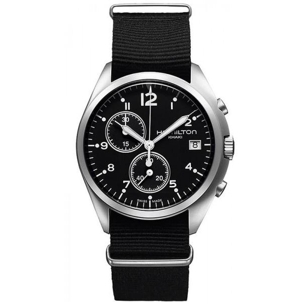 Buy Hamilton Men's Watch Khaki Aviation Pilot Pioneer Chrono Quartz H76552433