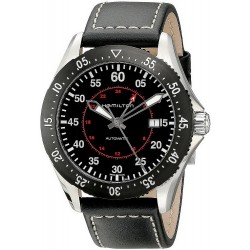 Hamilton Men's Watch Khaki Aviation Pilot GMT Auto H76755735