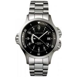 Hamilton Men's Watch Khaki Navy GMT Auto H77615133