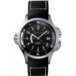 Hamilton Men's Watch Khaki Navy GMT Auto H77615333