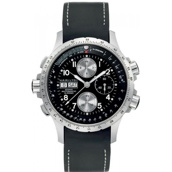 Buy Hamilton Men's Watch Khaki Aviation X-Wind Auto Chrono H77616333