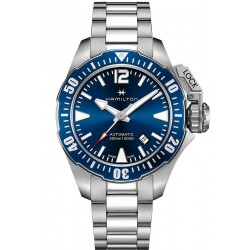 Hamilton Men's Watch Khaki Navy Frogman Auto H77705145
