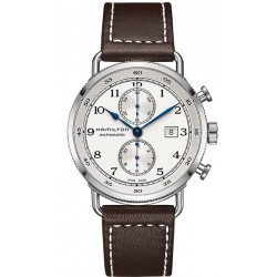 Hamilton Men's Watch Khaki Navy Pioneer Auto Chrono H77706553