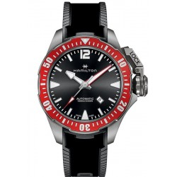 Hamilton Men's Watch Khaki Navy Frogman Titanium Auto H77805335