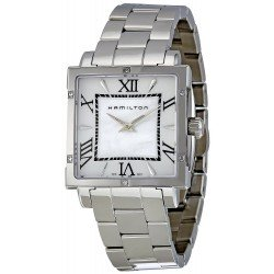 Buy Hamilton Women's Watch Jazzmaster Square Lady Quartz H32291114