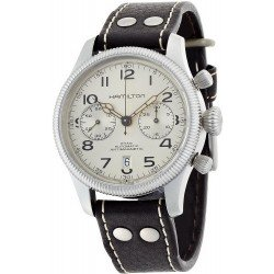 Hamilton Men's Watch Khaki Field Conservation Auto Chrono H60416553