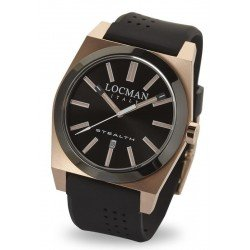 Locman Men's Watch Stealth Quartz 0201RGBKF5N0SIK