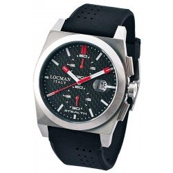Locman Men's Watch Stealth Quartz Chronograph 020200CBFRD1GOK