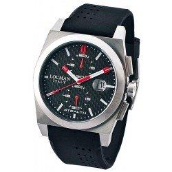 Locman Men's Watch 020200CBFRD1GOK Stealth Chronograph Quartz